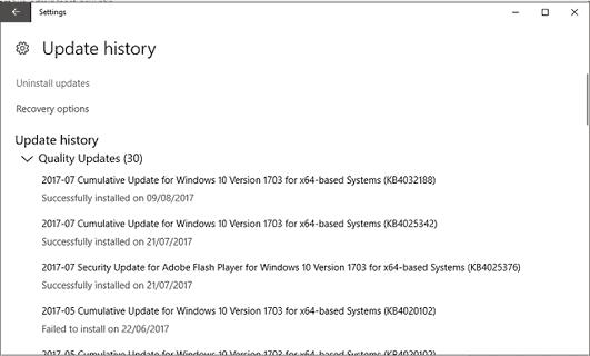 update error 0x80070652 1
