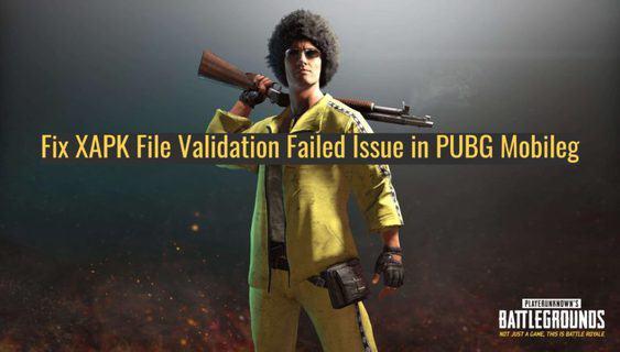 Fix XAPK File Validation Failed Issue in PUBG Mobile e1525011198662