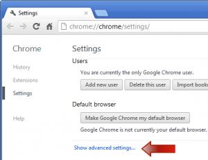how do i enable javascript on chrome