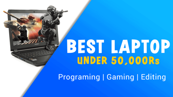 (Top 3) Best Laptops For Gaming Under 60000 in India 2020