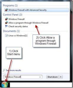 Start-menu-Firewall