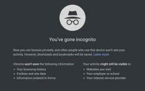 Fix 3: Use incognito mode in Chrome