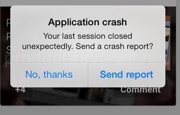 fix Apps Crashing