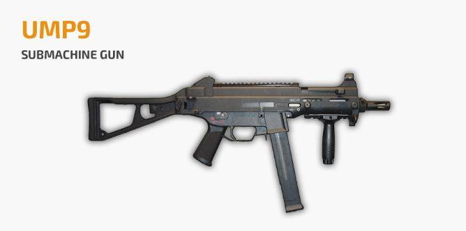Best Submachine Guns (SMG) for PUBG Mobile